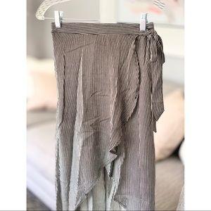 Joe Benbasset Skirts - Joe B   High-Low Wrap Maxi Skirt (NWOT)